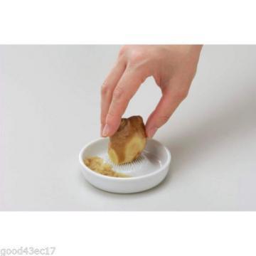 NEW Kyocera Small Ceramic GRATER white Sharp wasabi garlic ginger  japan sushi