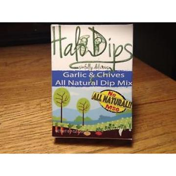 Garlic & Chives World Famous Halo Dips 3 Dips for $10.00 Dips,seasonings & spice
