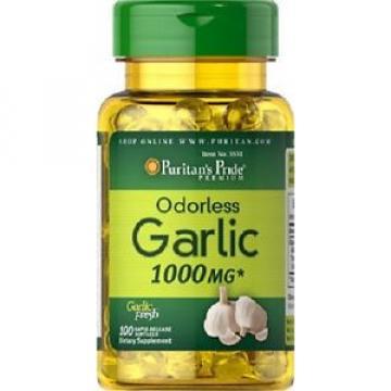 Garlic 1000 mgr, 100 caps. natural antibiotic