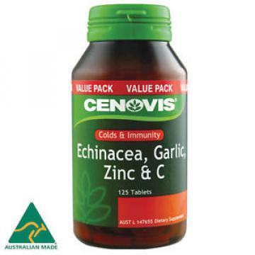 Cenovis Echinacea Garlic Zinc & C 125 Tablets
