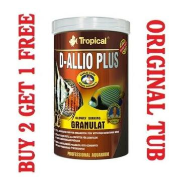 D-ALLIO PLUS Granules - Complete Food for Discus with garlic (30%) 250ml/150g-