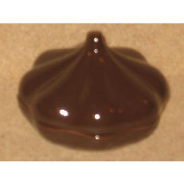 Longaberger RARE Garlic Pottery Baker, VERY RARE, Chocolate Brown color!