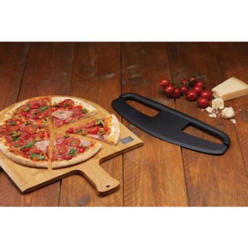 KITCHENCRAFT Pizza/Garlic/Fladenbrot-Rocker Schneidgerät Schnell/