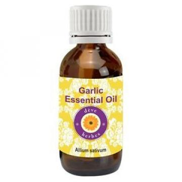 Pure Garlic Essential Oil (Allium sativum) 100% Natural Therapeutic Grade