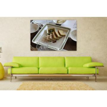 Stunning Poster Wall Art Decor Bread Garlic Bread Garlic Cooking 36x24 Inches