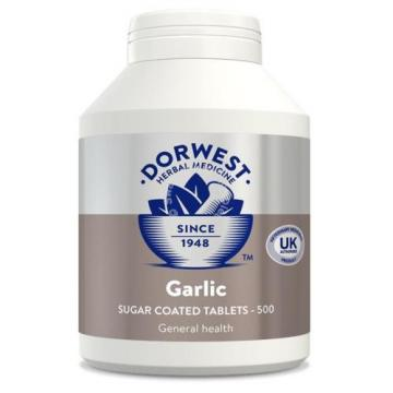 Dorwest Herbs Garlic Tablets Dog/Cat Supplement 500's