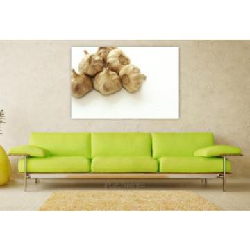 Stunning Poster Wall Art Decor Garlic Black Garlic Aged Garlic 36x24 Inches