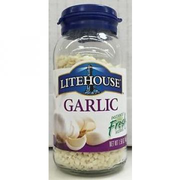 Litehouse Freeze Dried Garlic 1.58 oz Jar Lighthouse