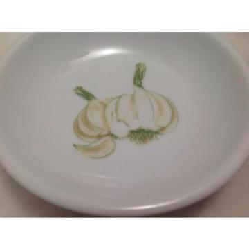 """Garlic bowls 4"""" (Set of Four), Hand Painted"""