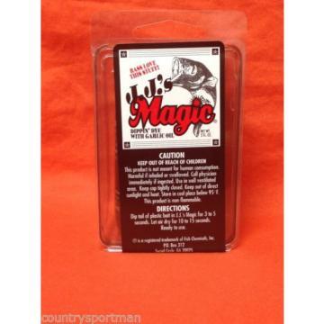 J.J.'S MAGIC Dippin' Dye w/Garlic Oil (2 fl oz) #01005 Red