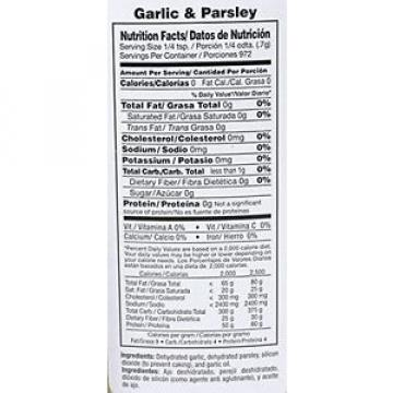 BADIA GARLIC & PARSLEY 1.75 OZ~ GLUTEN FREE KOSHER GUARANTEED FRESH ~ NEW--