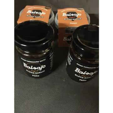 Balsajo Peeled Black Garlic Pot 50g (2off) Balsajo Original Black Garlic Paste 2