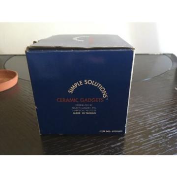 Simply Solution Terra Cotta Garlic Baker New In Box