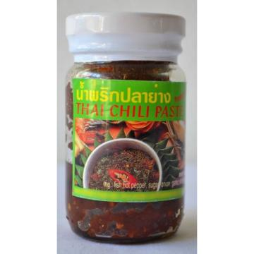 THAI CHILI PASTE #5 ~ Ingrd: fish hot pepper sugar onion garlic shrimp paste oil