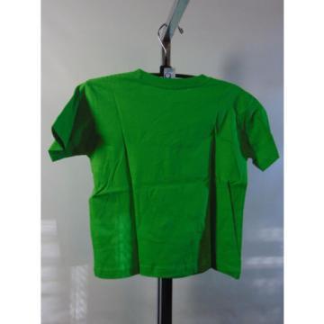 GAELIC & GARLIC LIGHT GREEN TODDLER YOUTH SHORT SLEEVE SHIRT SIZE 4