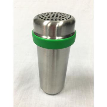 Stainless Steel Garlic Peeler and Presser Garlic Shaker Garlic Crusher 2 in 1