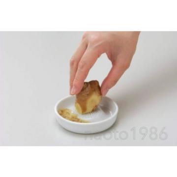 Kyocera Small Ceramic GRATER white Sharp wasabi garlic ginger sushi (F/S +Track)