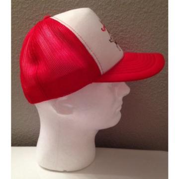 "Vintage 70's ""Garlic World"" Gilroy, California - Mesh Trucker Hat Snapback Cap"