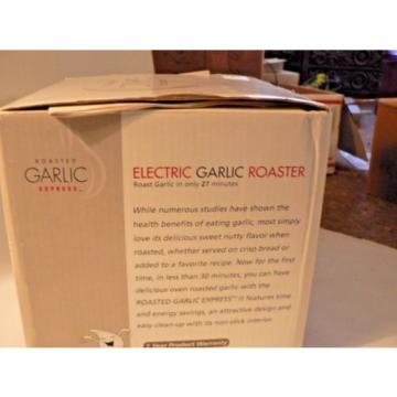 garlic express electric roaster gr 300-1 brand new