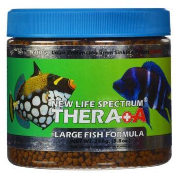 New Life Spectrum Thera+A Large Fish Formula 250g Sinking 3mm Pellets Garlic NLS
