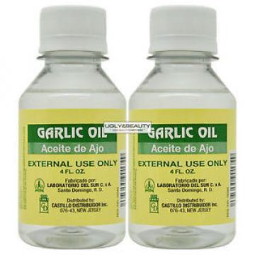 "Garlic OIL Aceite De Ajo 4 Fl. Oz. ""Pack of 2"""