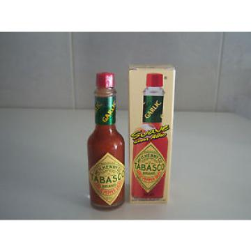 Tabasco Garlic Flavored Hot Sauce  2 oz /60ml