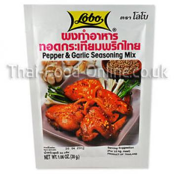 Thai Pepper and Garlic Seasoning Mix (30g) by Lobo X 5 - UK Seller (SE14x5)
