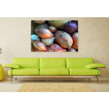 Stunning Poster Wall Art Decor Vegetables Onion Garlic Celery 36x24 Inches