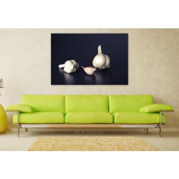 Stunning Poster Wall Art Decor Garlic Flavoring Food Ingredient 36x24 Inches