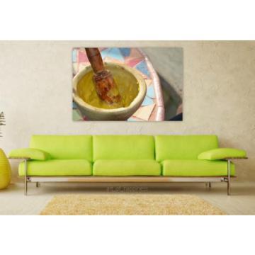 Stunning Poster Wall Art Decor Garlic Sauce Mortar Aioli 36x24 Inches