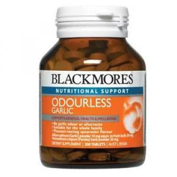 Blackmores Garlic Odourless 200 Tablets