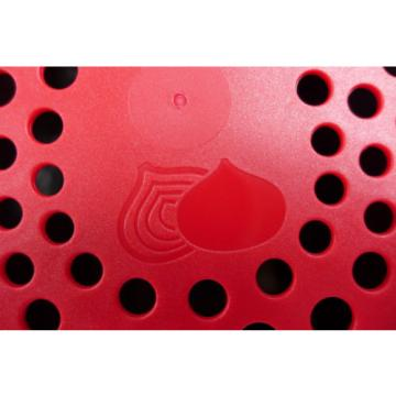 Tupperware onion garlic smart container keeper access mates black & red New