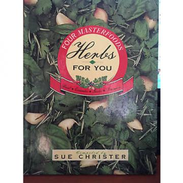 Four Masterfoods Herbs For You - Christer Basil Coriander Garlic Rosemary