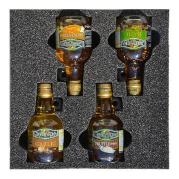 Mantova Bruschetta/Truffle/Garlic/Basil Set of 4 bottles 8.5 oz each