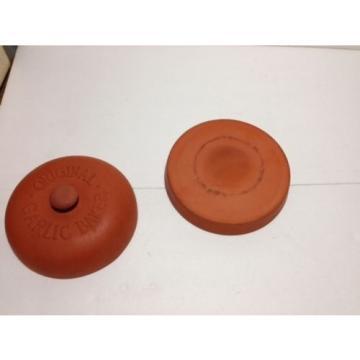 Terra Cotta Pottery Original Garlic Baker Crock never used!