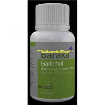 BARAKA GARLICHOL 500mg 60 Caps Black Seed &Garlic 100%-POSITIVE-SELLER