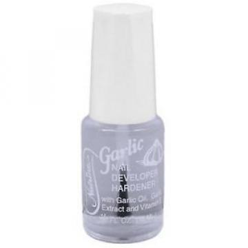 Nutrine Nutrine Garlic Nail Developer Hardener, .5 oz (Pack of 2)