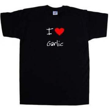 I Love Heart Garlic T-Shirt
