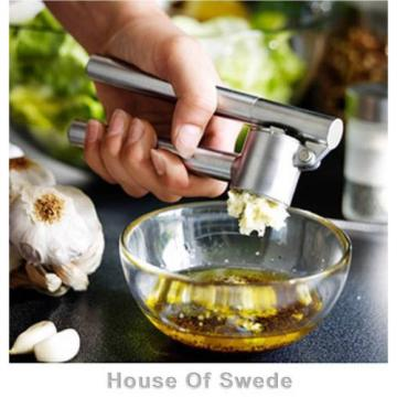 Ikea KONCIS Garlic Ginger Press Crusher Presser Squeeze Kitchen Stainless Steel