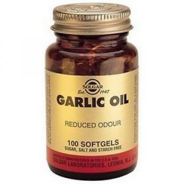 Solgar Garlic Oil (Reduced Odour) 100 Softgels