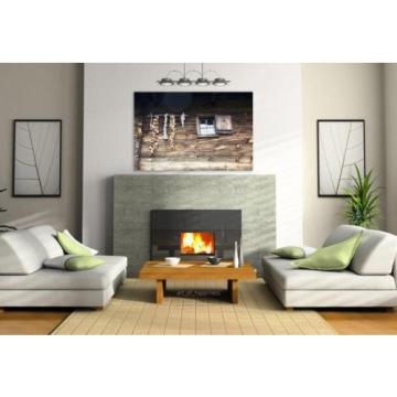 Stunning Poster Wall Art Decor Garlic Old Village Rustic Wooden 36x24 Inches