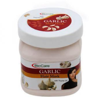 Garlic Hair Mask Garlic (500 ml) For Dry Damaged Hair Therapy-Garlic,Thyme oil