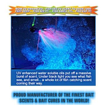 PRO CURE PROFFESIONAL GRADE EXTRA STRENGTH BAIT OILS WITH UV FLASH 2oz