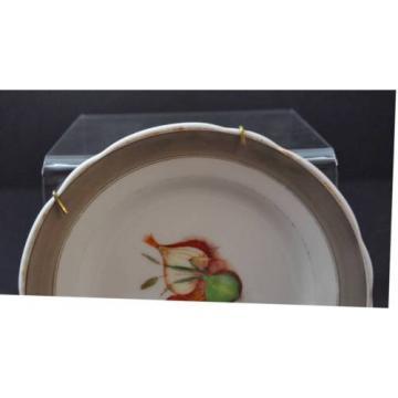 "Vintage KPM Wall Decor Plate Spice Garlic About 7"""