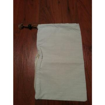 """One Polyester / Cotton Garlic Bag with Zipper Access 12.25"""" x 7.75"""""""
