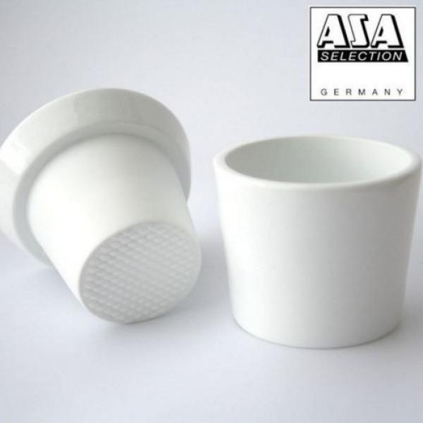 Asa 250°C Porcelain White Herb/Spice Grinder Garlic Crush - 52080017 #1 image