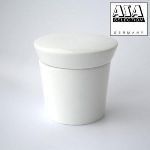 Asa 250°C Porcelain White Herb/Spice Grinder Garlic Crush - 52080017 #2 image