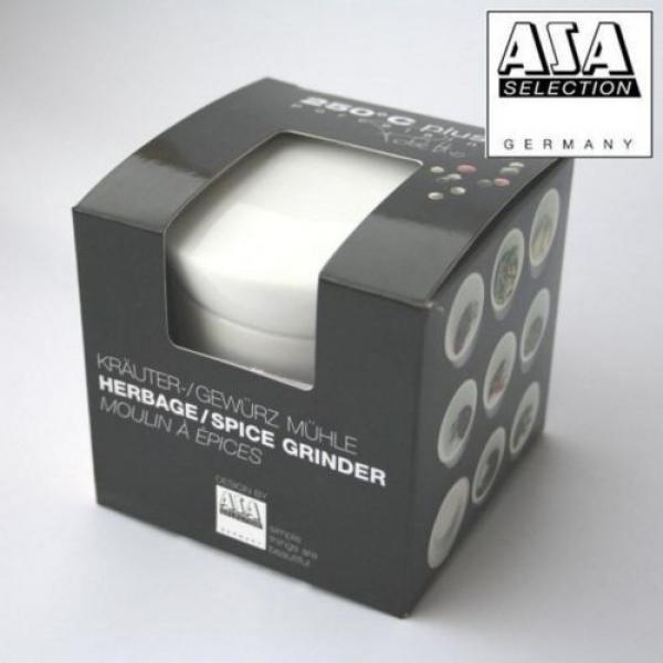 Asa 250°C Porcelain White Herb/Spice Grinder Garlic Crush - 52080017 #3 image