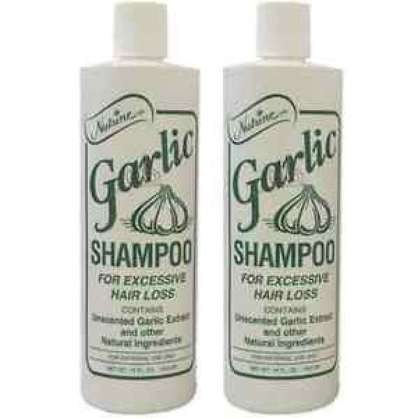 Nutrine Garlic Shampoo Unscented 16oz Pack of 2 #1 image