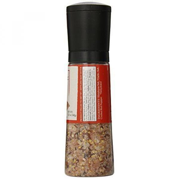 Dean Jacobs Jumbo Grinder Spicy Garlic Himalayan Pink Salt Seasoning 12 Ounce #2 image